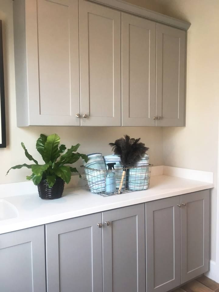 Craftsman Dove Gray Laundry Rooms 3 In 2019 Finish Kitchen