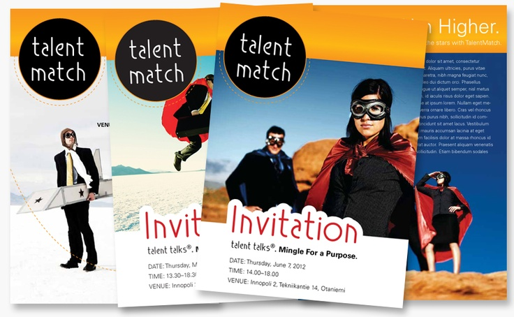 Invitations for Talent Match events 2011-2012