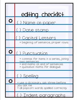 Peer Editing Checklist For High School Students - peer ...