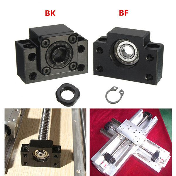 2pcs BK12 BF12 Ball Screw End Supports for Ball Screw SFU1605 CNC XYZ Parts Sale - Banggood Mobile