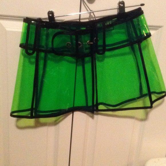 LIP SERVICE Drastik Plastik (?) mini skirt #88-09