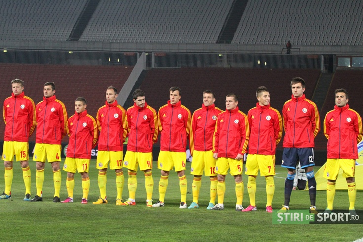 Romania, înaintea startului cu Ungaria la Budapesta, 22.03.2013 / foto: Daniel Rus / stiridesport.ro