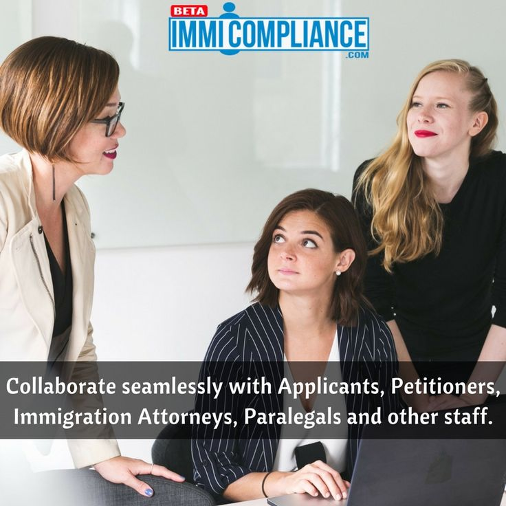 Invite and communicate with them to team up with your law firm via our communication hub.   #lawyer #immigration #visa #usa