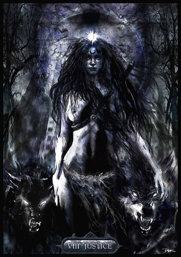 Lyssa _ Greek. An underworld goddess who runs with a pack of wild dogs and can induce deadly madness.