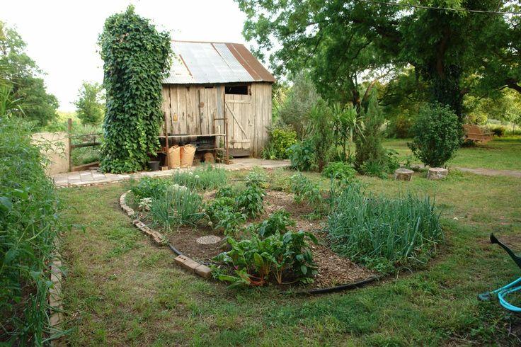 Organic Garden Design Enchanting Decorating Design