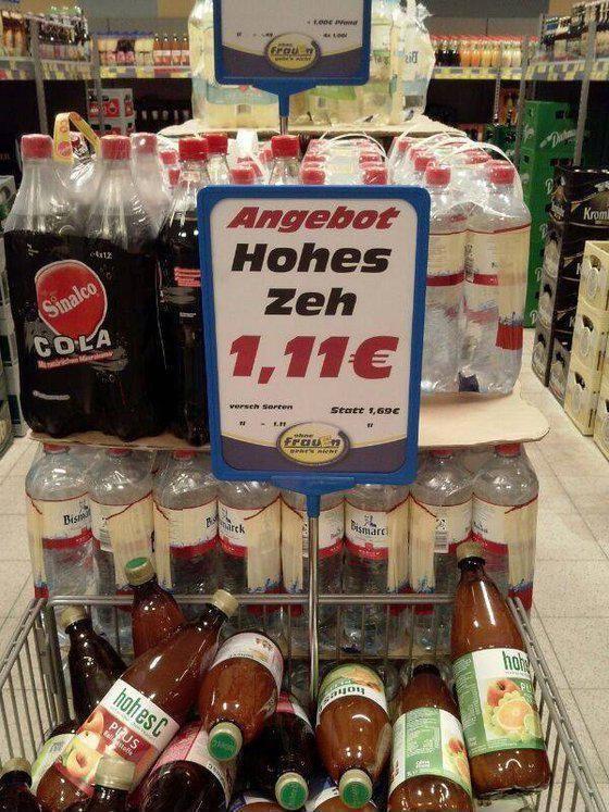 21 Supermarkt-Angebote, die viel zu weit gingen