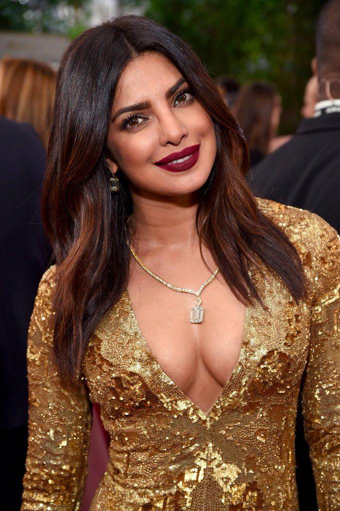 Priyanka Chopra at golden globes award