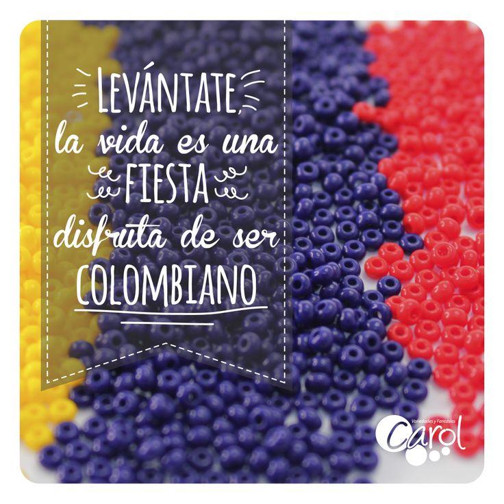 #DIY #HazloTuMismo Buenos días Colombia!!! Disfruta de este día lleno de color y alegría!!!