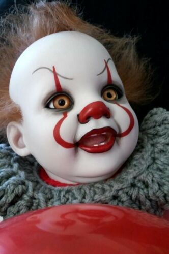 Reborn Baby Pennywise It Clown Fantasy Horror Gothic In
