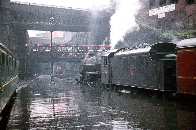 R0297. 44972 at Glasgow Queen Street. July, 1960. - Ron Fisher