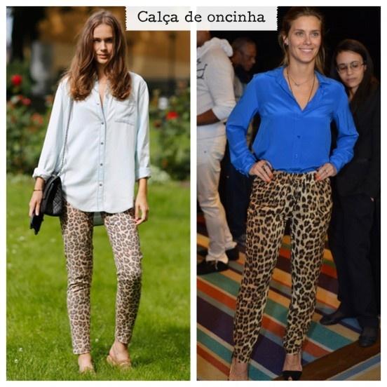 Calça de oncinha    http://matka.com.br/blog/29/08/2012/looks-pra-inspirar-calca-de-oncinha/