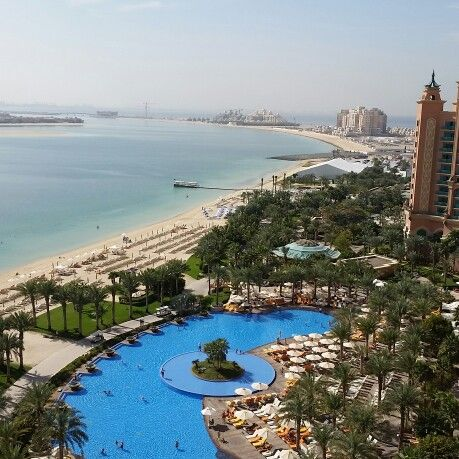 View from our room Dubai.