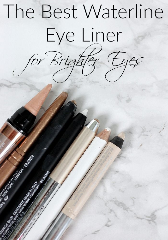 The Best Waterline Eye Liner for Brighter Eyes