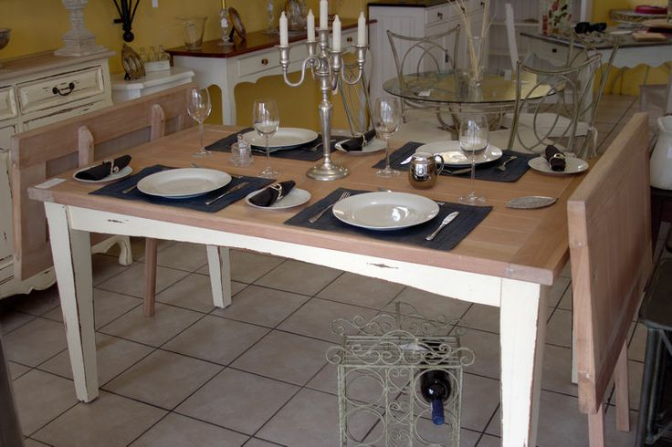 #37 - Expandable Dining Room Table