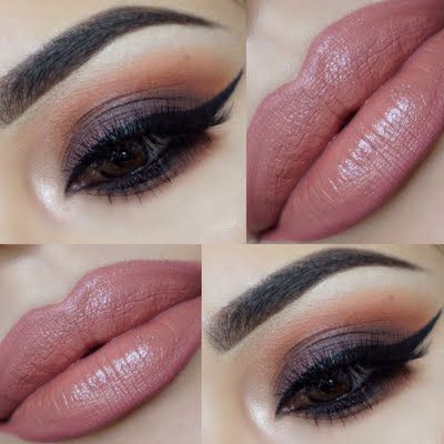 Look provocatively sweet on your next formal in sensational smokey eyes. Watch Melissa's detailed video tutorial by clicking through.
