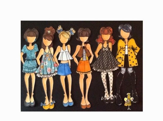 My new favorite thing! .... THIS week :-).  Would you believe that I just recently discovered Prima dolls by Julie Nutting   ?!  Truth.  ...