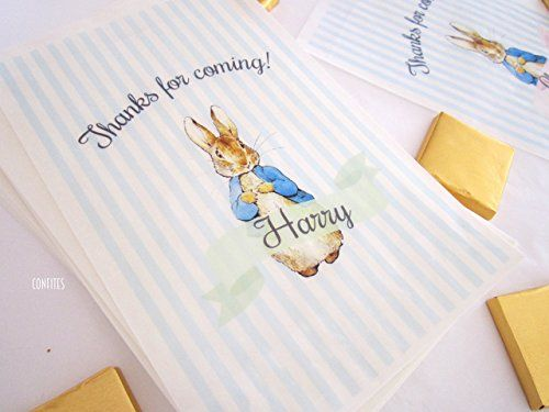 Personalised Party Bags Peter Rabbit, sweet bags, party f... https://www.amazon.co.uk/dp/B079VR6Z87/ref=cm_sw_r_pi_dp_x_dI0HAbWZ36Q5R
