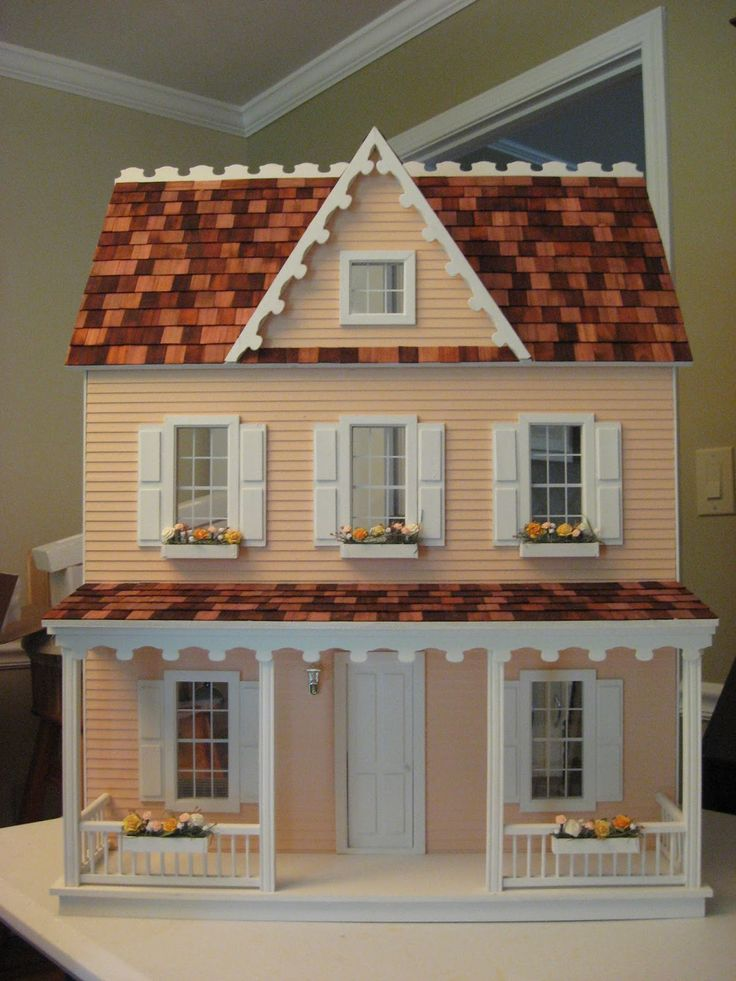 8 Best Ideas For Dollhouse Images On Pinterest Doll Houses Dollhouses And Dollhouse Kits