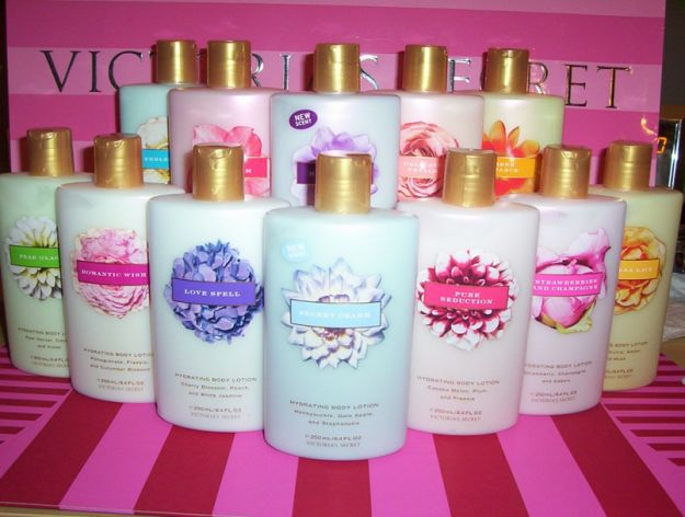 Victorias Secret started my lotion addiction!