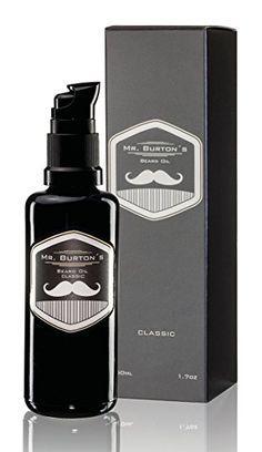 Mr. Burtons Bartöl CLASSIC - unverwechselbarer Duft - 50ml Bart Öl für die Bartpflege - Premium Qualität - zum Bart weich machen - als Geschenke zum Jahrestag oder Geburtstagsgeschenk für Männer: Amazon.de: Drogerie & Körperpflege