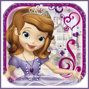Join Sofia the First on her Royal adventure. Being a princess isn't all that hard. http://www.allthatstuff.net/Sofia/sofia-the-first-party-supplies.html