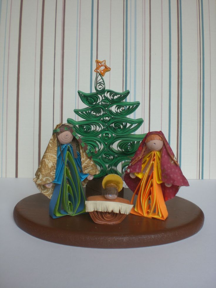 25 Best Quilling Nativity And Jesus Images On Pinterest