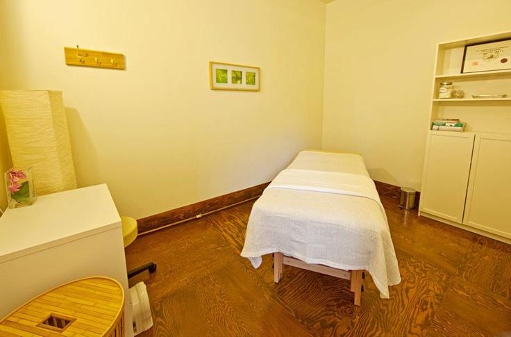 Wellness too! Massage room  Photo By Dave Hamilton
