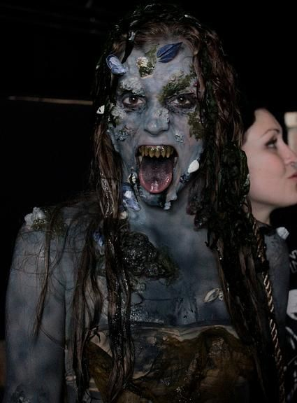 scary mermaid - Google Search