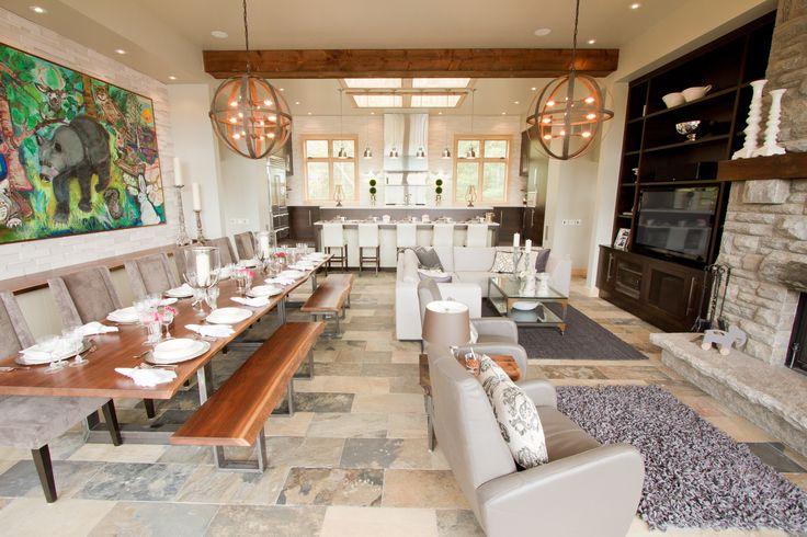 Great Room. Open Concept. #bryanbaeumler #sarahbaeumler #HOB2 #houseofbryan2