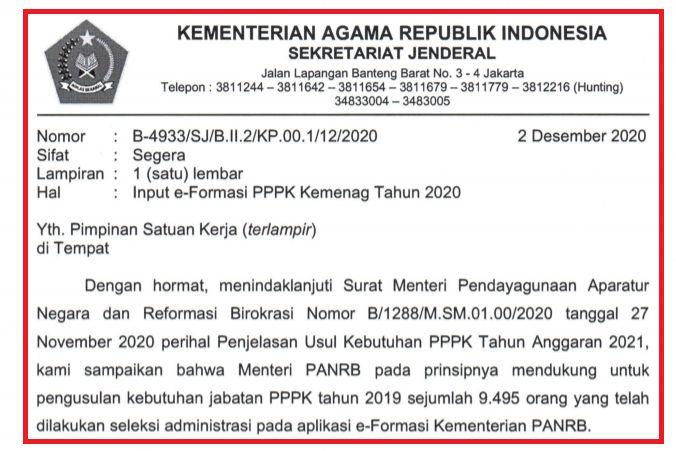48++ Formasi cpns kemenag pdf 2019 cpns 2021