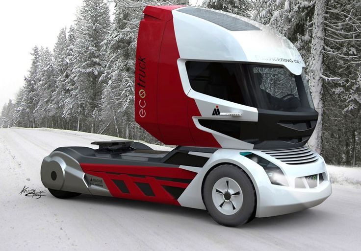 prototype semi trucks | Futuristic truck designs...Biglorryblog loves Christian Krugs Magna ...