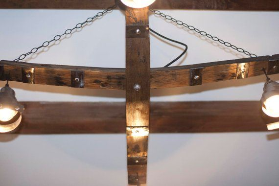 Rustic Ceiling Light Hanging On Chain 4 Lights Vintage Light Etsy Rustic Ceiling Lights Ceiling Lights Vintage Lighting