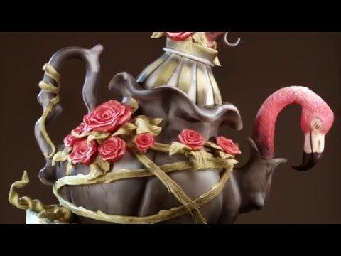 Торт с Фламинго от Рената Агзамова - YouTube
