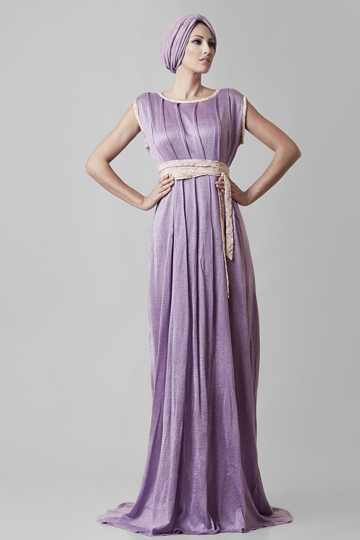 Fragile | @Nassos Ntotsikas Spring/Summer 2015 collection #NassosNtotsikas #SS2015 #GreekDesigner #Maxi #Dress #FashionDesigner #Lilac #KnitYourDreams #Ancient #Greek