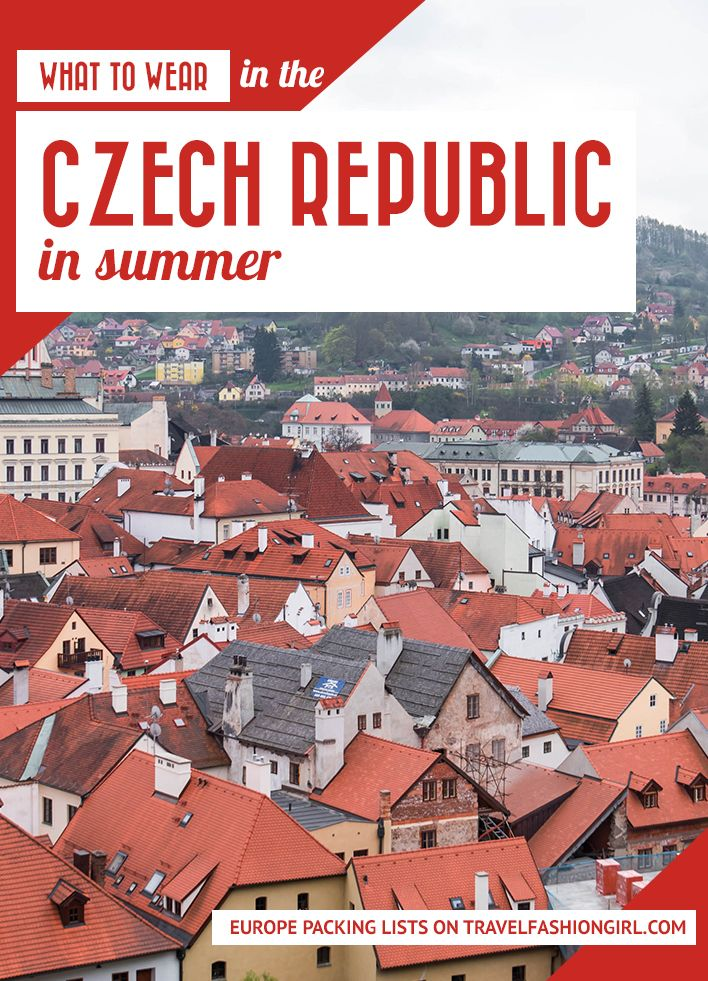 What to Wear in the Czech Republic in the Summer: Southern Bohemia | Travel Fashion Girl