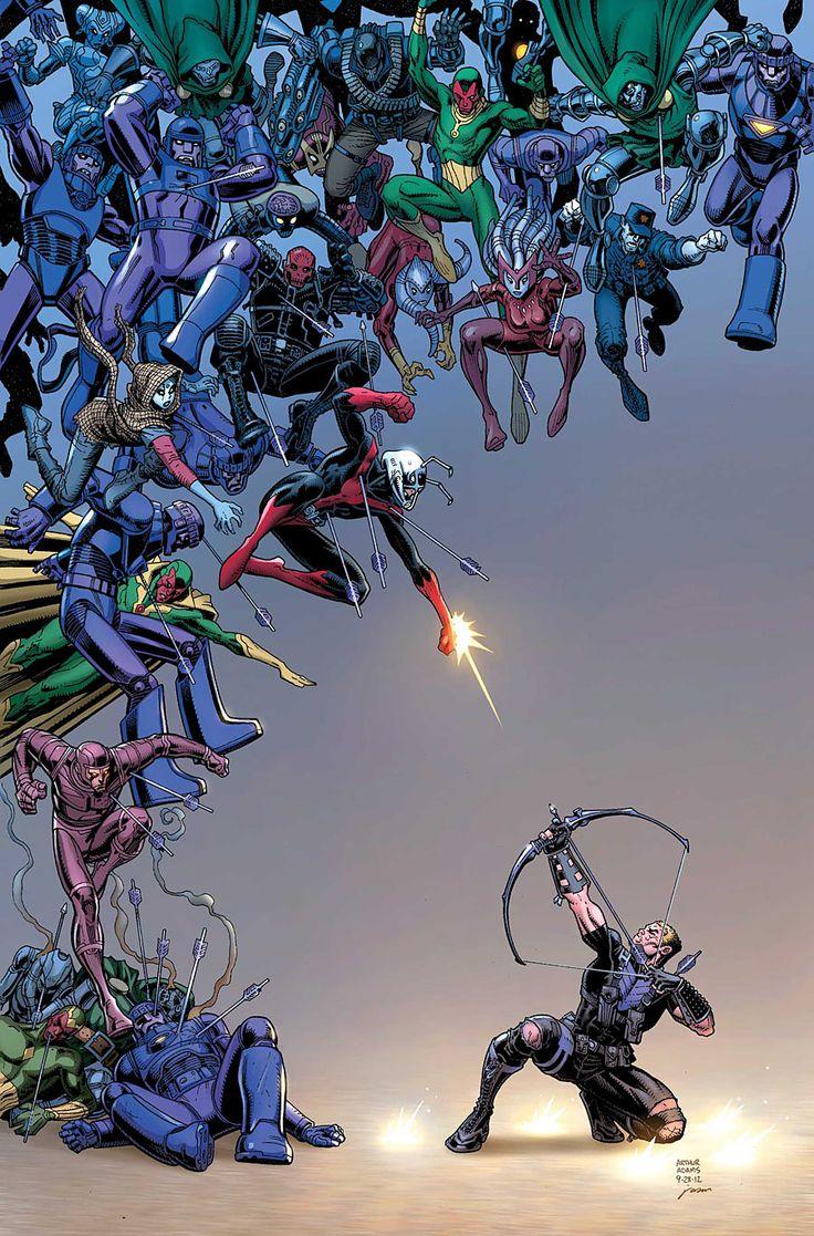 #Hawkeye #Fan #Art. (SECRET AVENGERS #36 Cover) By: ARTHUR ADAMS. [THANK U 4 PINNING!!]