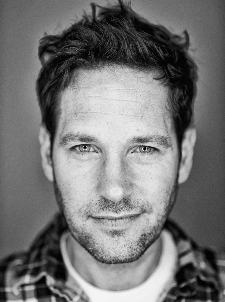 Paul Rudd. Saw him at a NYC hotel once. Just as handsome in real life!