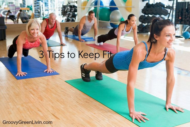 VIDEO: 3 Tips to Keep Fit Groovy Green Livin #fitness #workout