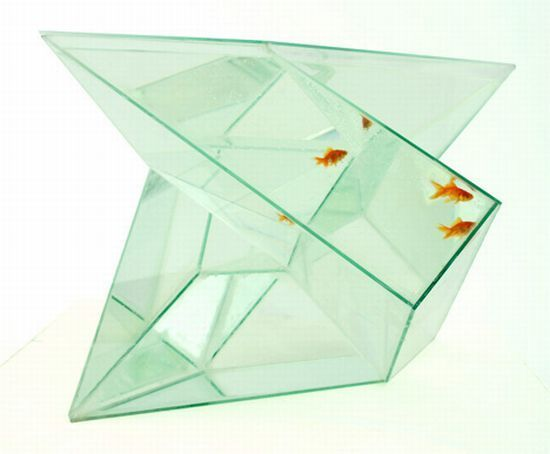 An aquarium not only gives an aesthetic appearance to our interiors, but also brings us close to nature. Fish alleviates stress and reduce blood pressure, so making it a part of your interiors seems to be good thought. Without doubt, unusual fish tanks ha