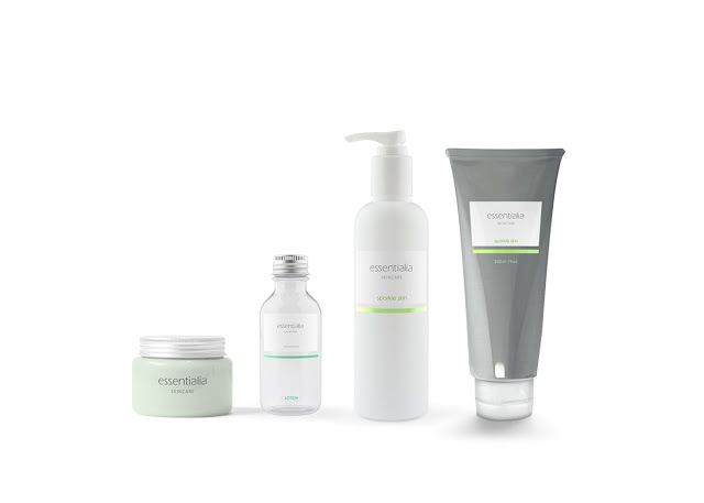 Essentialia Skincare (Concept) on Packaging of the World - Creative Package Design Gallery