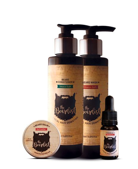 The Connoisseur Collection  The Connoisseur Collection – a great choice for beard purists. Consistingof Beard Wash, Hydrating Beard Conditioner Beard Balm and Beard Oil.
