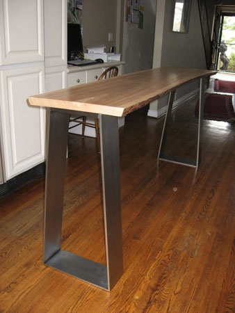 Metal Welding Gallery: Furniture | Dawson Metal Design | Custom Welded Furniture and Artistic Metal Design in Toronto, Ontario
