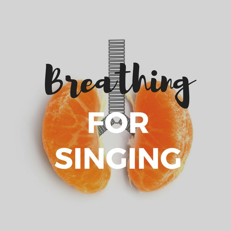 A FREE resource about breathing for singing.