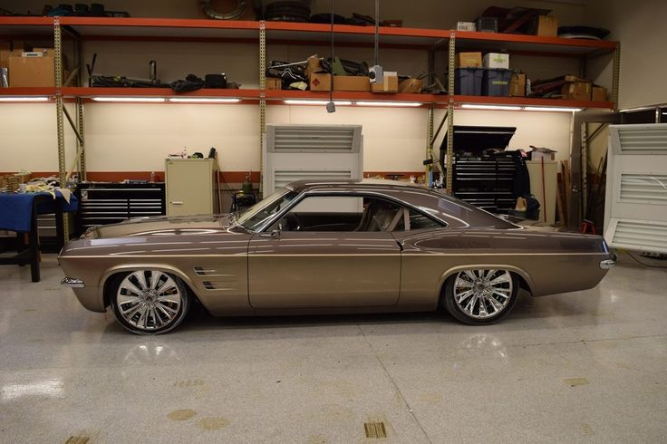 1965 Imposter Impala With A 2009 Corvette Chassis | via ≡Shortline Garage≡