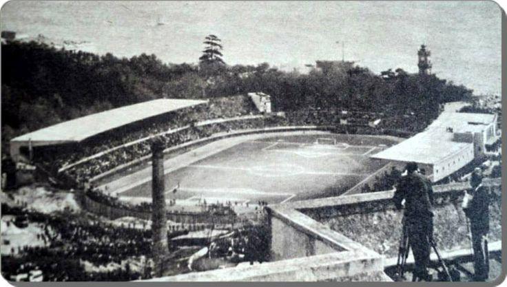 19 mayis 1940 tarihinde temeli atilan Mithatpasa / Dolmabahce / Inonu stadi