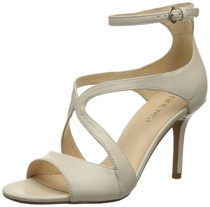 Nine West Women's Gerbera Leather Heeled Sandal ** Discover this special product, click the image : Closed toe sandals