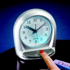Alarm Clock With LED Light