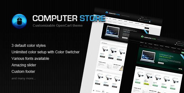 Computer Store - Premium OpenCart Theme