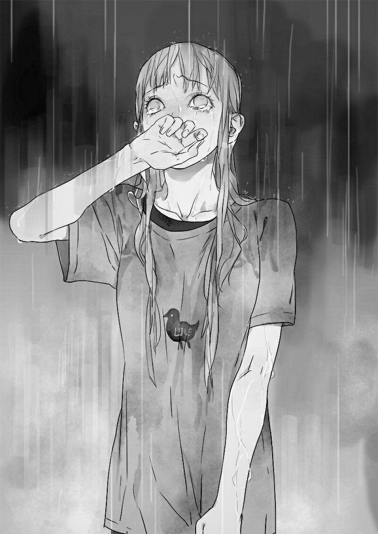 Cuando coincidimos...la lluvia expresa todo lo que siento en este momento