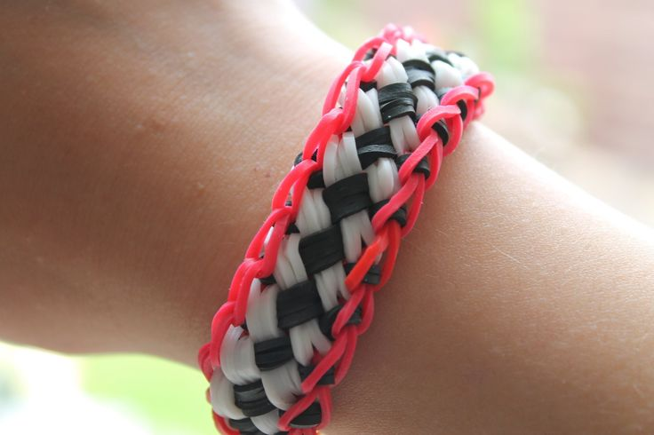 Rainbow loom Nederlands, chinese finger trap, armband